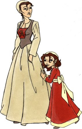 How Does Pearl Look Like The Scarlet Letter