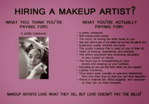 Makeup Artist Quotes Do makeup artists charge