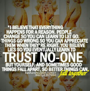 ... Quotes, Random Quotes, Trust, Marilynmonroe, Truths, Favorite Quotes