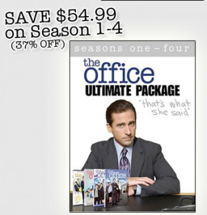Have you checked out the Ultimate Package-- that's what she said. It's ...