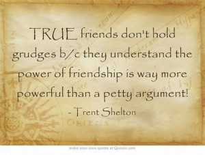 ... Friendship Is Way More Powerful Than A Petty Argument - Trent Shelton