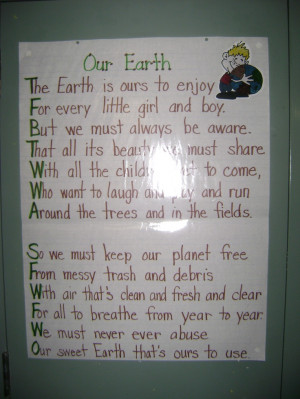 Earth Day poem :)