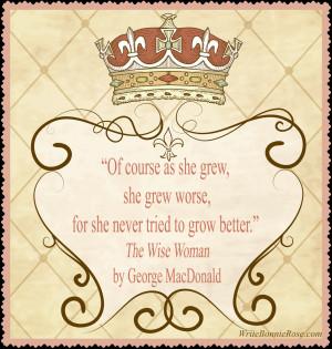 George MacDonald Copywork