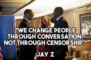 "JAY Z's Opinion on ""The N-Word"""