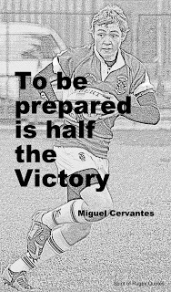 to be prepared is half the victory - sporting quotes - jacqui O'Gara