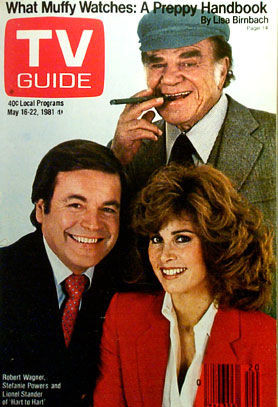 Robert Wagner, Stefanie Powers and Lionel Stander