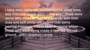 quotes about dying loved ones