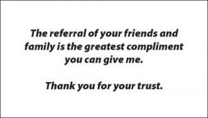 Referral Quotes