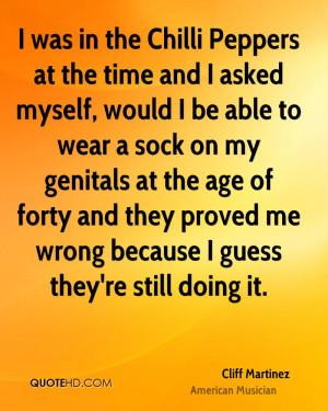 Cliff Martinez Quotes