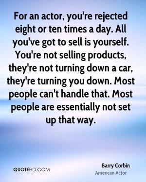 Barry Corbin Car Quotes