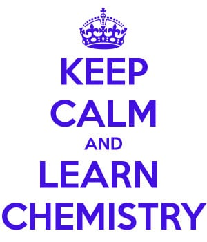 Keep Calm And Learn Chemistry - Geek Poster