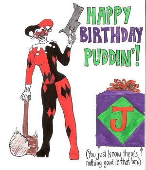 Harley Quinn Grins by MidnightMadwoman