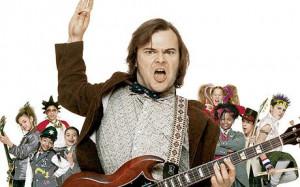 ... film The School of Rock has been voted the Best Teacher in Film in a