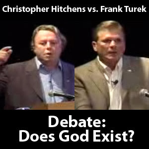 Hitchens vs Turek Debate MP3 Audio