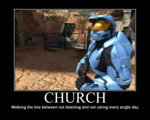 Red Vs. Blue Tex and Church