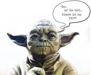 Ah well, at least we tried, aye Yoda?