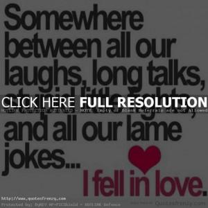Cute Boyfriend Girlfriend Quotes