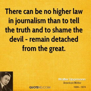 ... than 2 tell truth & 2 shame the devil - remain detached form the truth