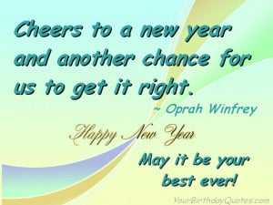 Best New Year Resolution Quotes 2015