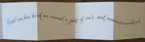 lisaholtzmancalligraph...book for my sister-in-law