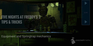 Five Nights At Freddy's 3 Tips & Tricks – Equipment And Springtrap