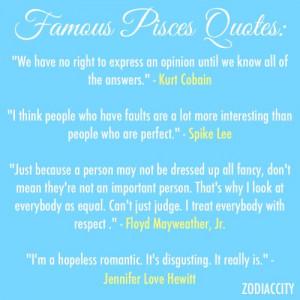 Famous Pisces Quotes