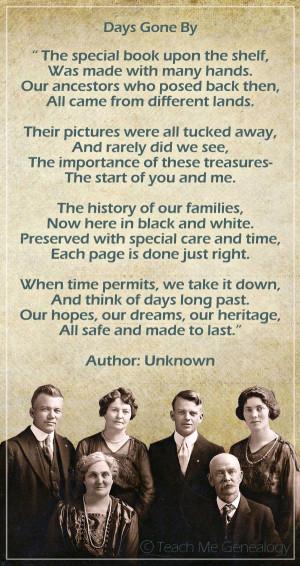... History, Genealogy Scrapbook, Genealogy Quotes, Ancestry Scrapbooking