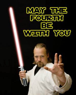 famous star wars quotes. Happy Star Wars Day by Cayusa