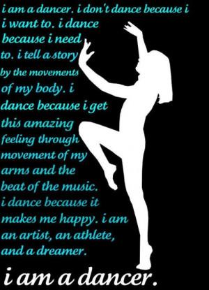 am a Dancer