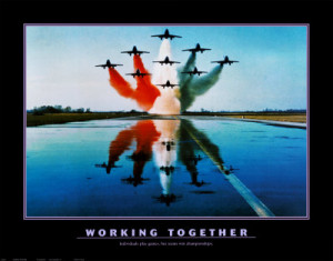 Army Teamwork Print Military Motivational Posters