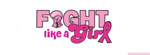 Fight Like A Girl Breast Cancer Cover