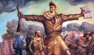 John Brown Bleeding Kansas