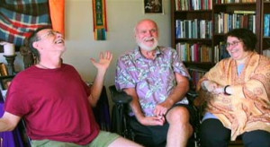 Ram Dass and Krishna Das about how their Hindu guru, Neem Karoli Baba ...