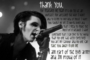 andy biersack black veil brides thank quote