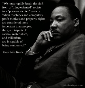 Martin Luther King :