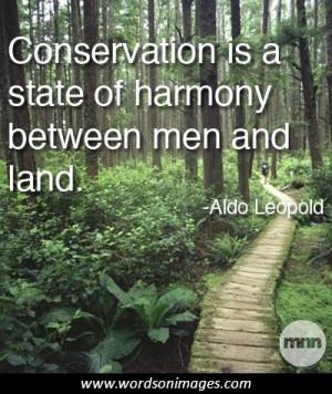 Aldo leopold quote
