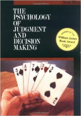 """... The Psychology of Judgment and Decision Making"""" as Want to Read"""