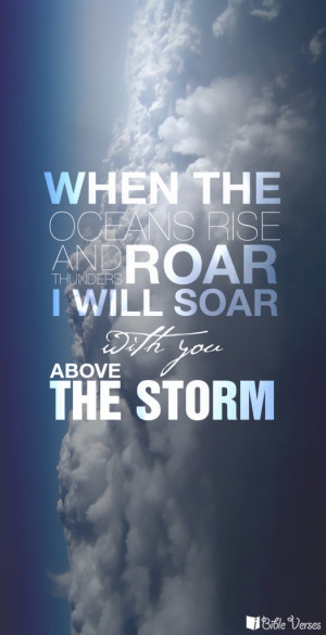 will soar with you above the storm.Ocean Rise, Thunder Storms Quotes ...