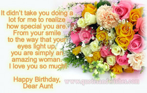 happy birthday aunt Happy Birthday wishes for aunt. Beautiful picture ...