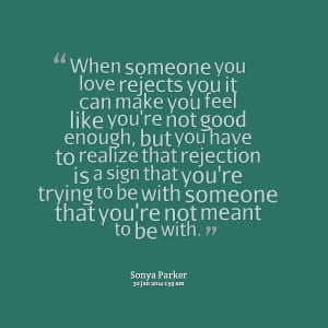 quotes about not being good enough for someone