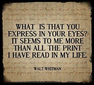 ... ? It seems to me more... | Walt Whitman Picture Quotes | Quoteswave