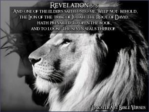 Book of revelation verses