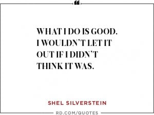 shel silverstein quote