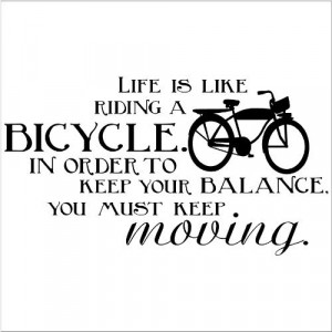 Bike Stickers Quotes
