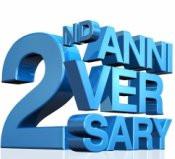 2nd anniversary ideas