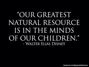 ... board with this quote. Our children are our future #disney #quotes