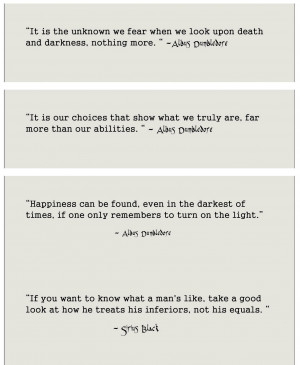 like to share some of my fave quotes from Harry Potter books.
