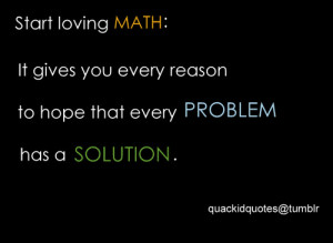 love math quotes