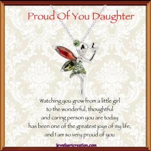 proud daughter poem | Proud of you DaughterJewels Art, Daughters ...