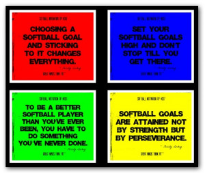 Softball Quotes for Motivation